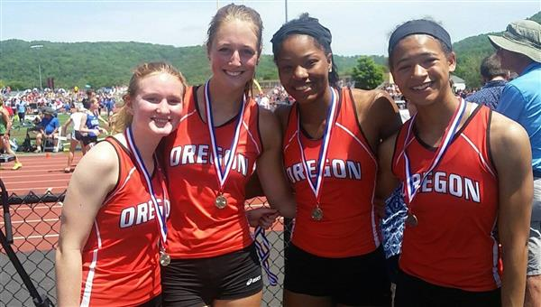 OHS Girls Track State Medalists