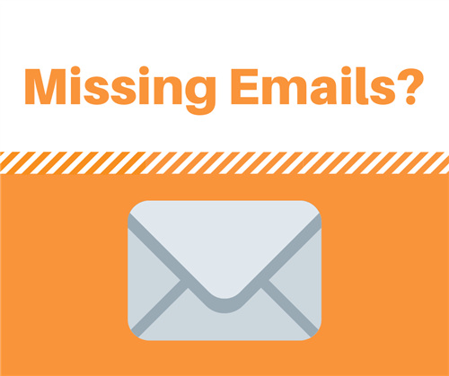 missing email graphic